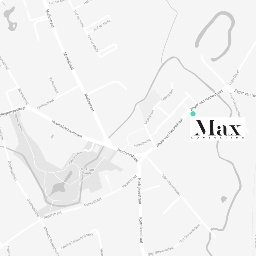 Max Consulting, Zeger Van Heulestraat 34, Kortrijk